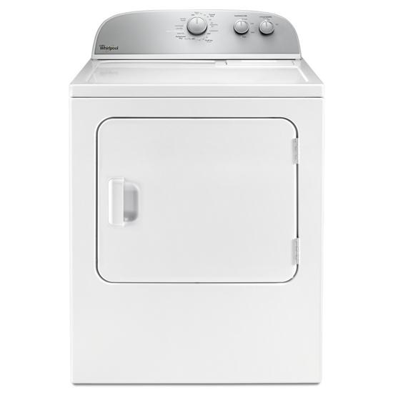 Model: WED4985EW   Whirlpool 5.9 cu.ft Top Load Electric Dryer with AutoDry™ Drying System