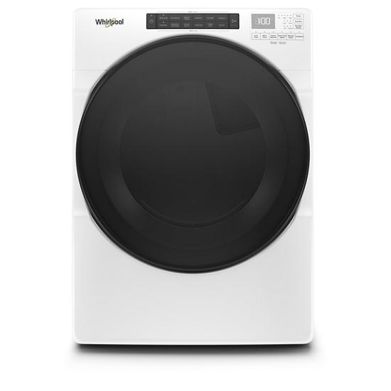 Whirlpool 7.4 cu. ft. Front Load Electric Dryer with Steam Cycles