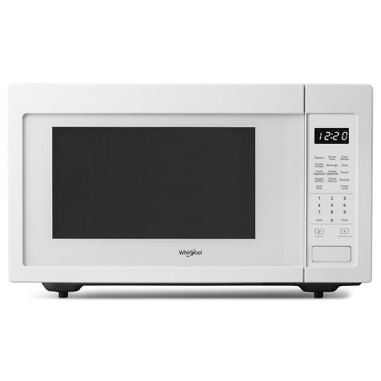 Whirlpool 1.6 cu. ft. Countertop Microwave with 1,200-Watt Cooking Power