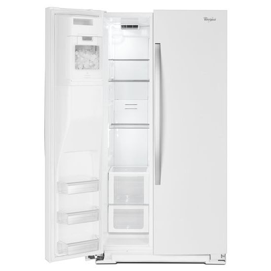 Model: WRS970CIDH   Whirlpool 36-inch Wide Side-by-Side Counter Depth Refrigerator with StoreRight™ Dual Cooling System - 20 cu. ft.