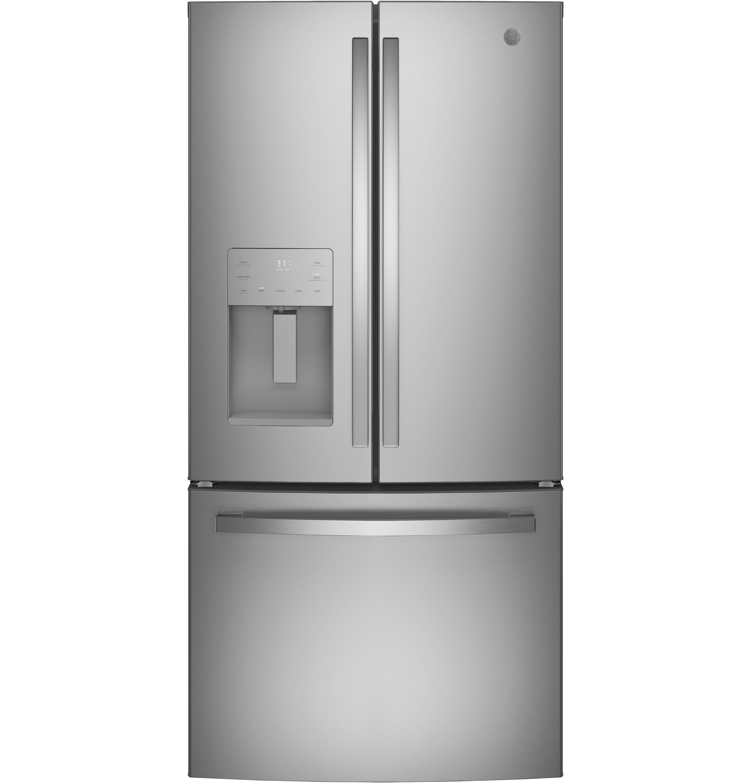 GE GE® ENERGY STAR® 17.5 Cu. Ft. Counter-Depth French-Door Refrigerator