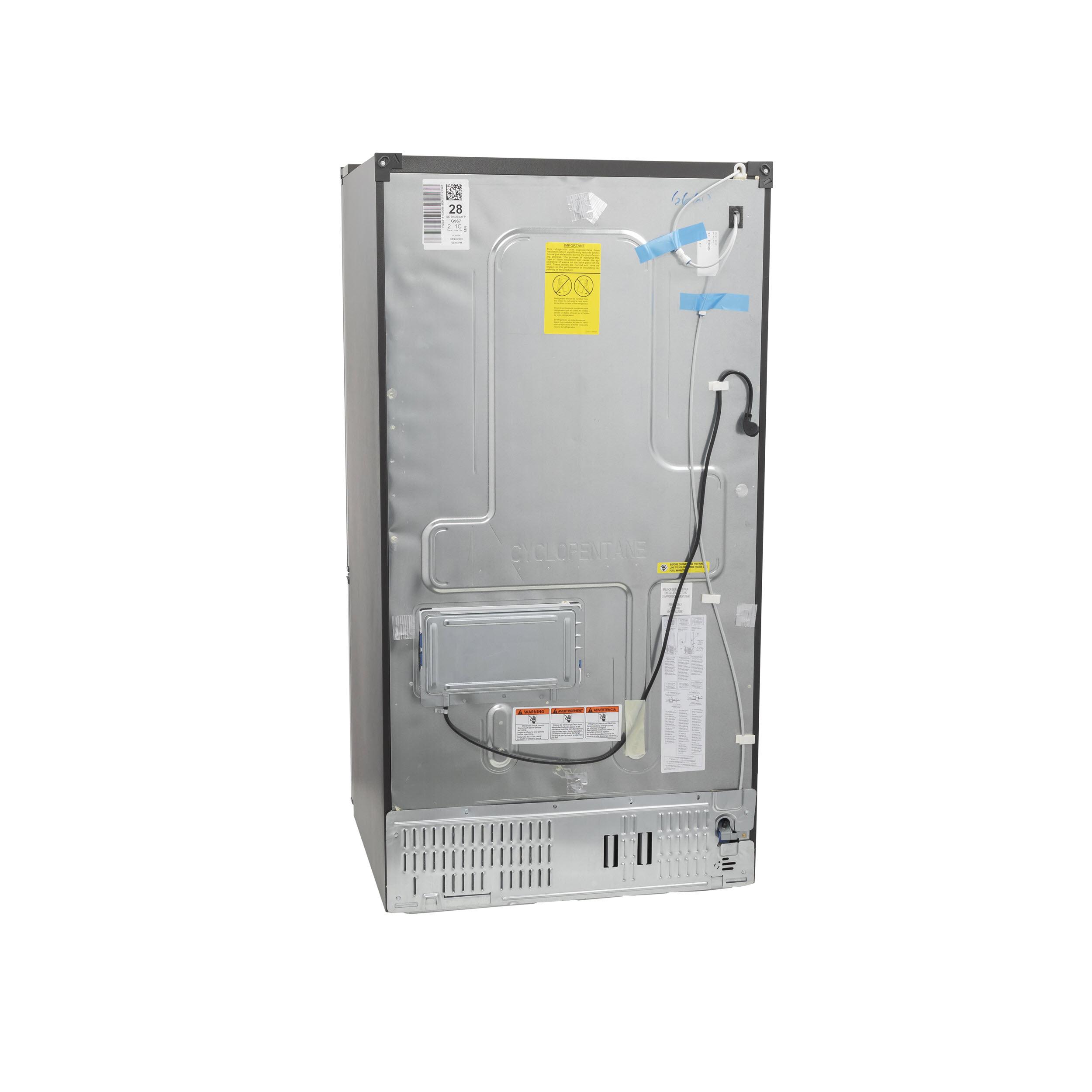 Model: GFD28GYNFS | GE GE® 27.7 Cu. Ft. Fingerprint Resistant French-Door Refrigerator with Door In Door