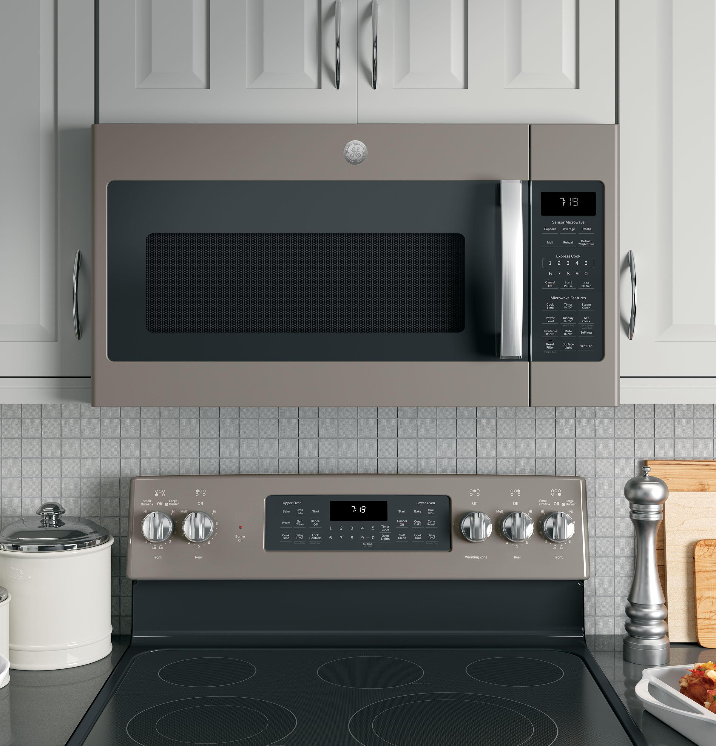 Model: JVM7195EKES | GE GE® 1.9 Cu. Ft. Over-the-Range Sensor Microwave Oven