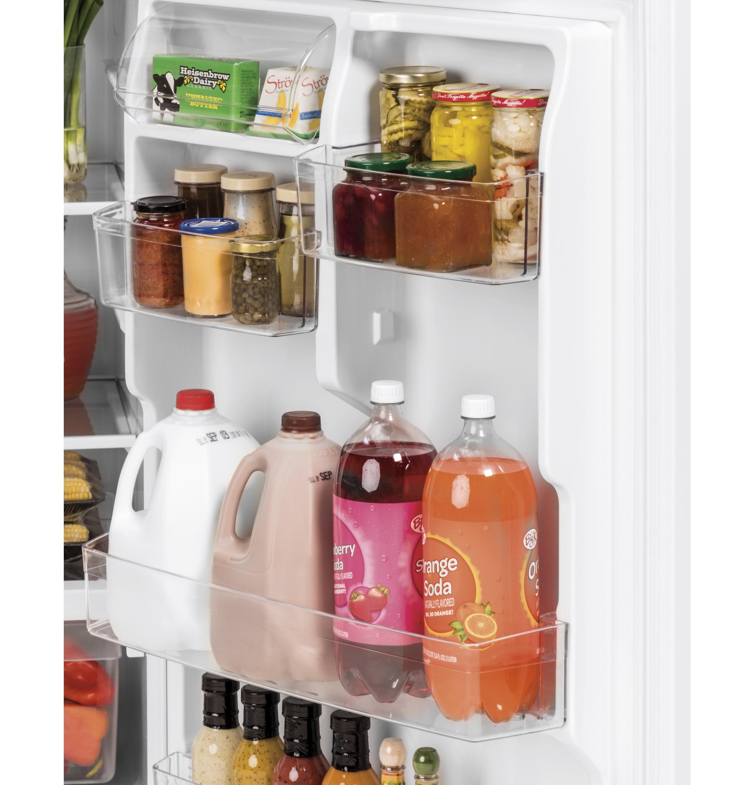 Model: GTS22KMNRES | GE GE® 21.9 Cu. Ft. Top-Freezer Refrigerator