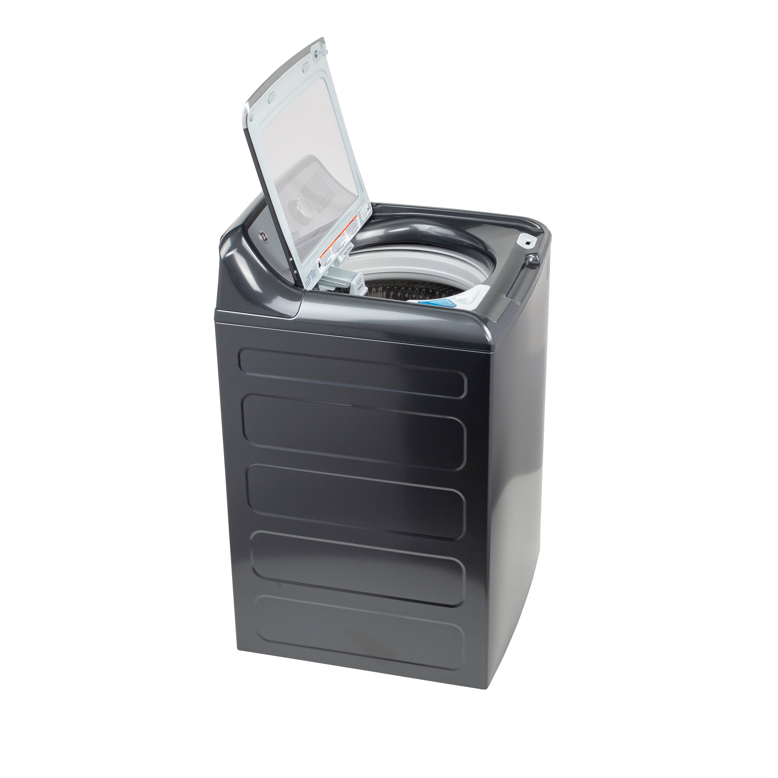 Model: GTW840CPNDG | GE GE® 5.2  cu. ft. Capacity Smart Washer with Sanitize w/Oxi and SmartDispense