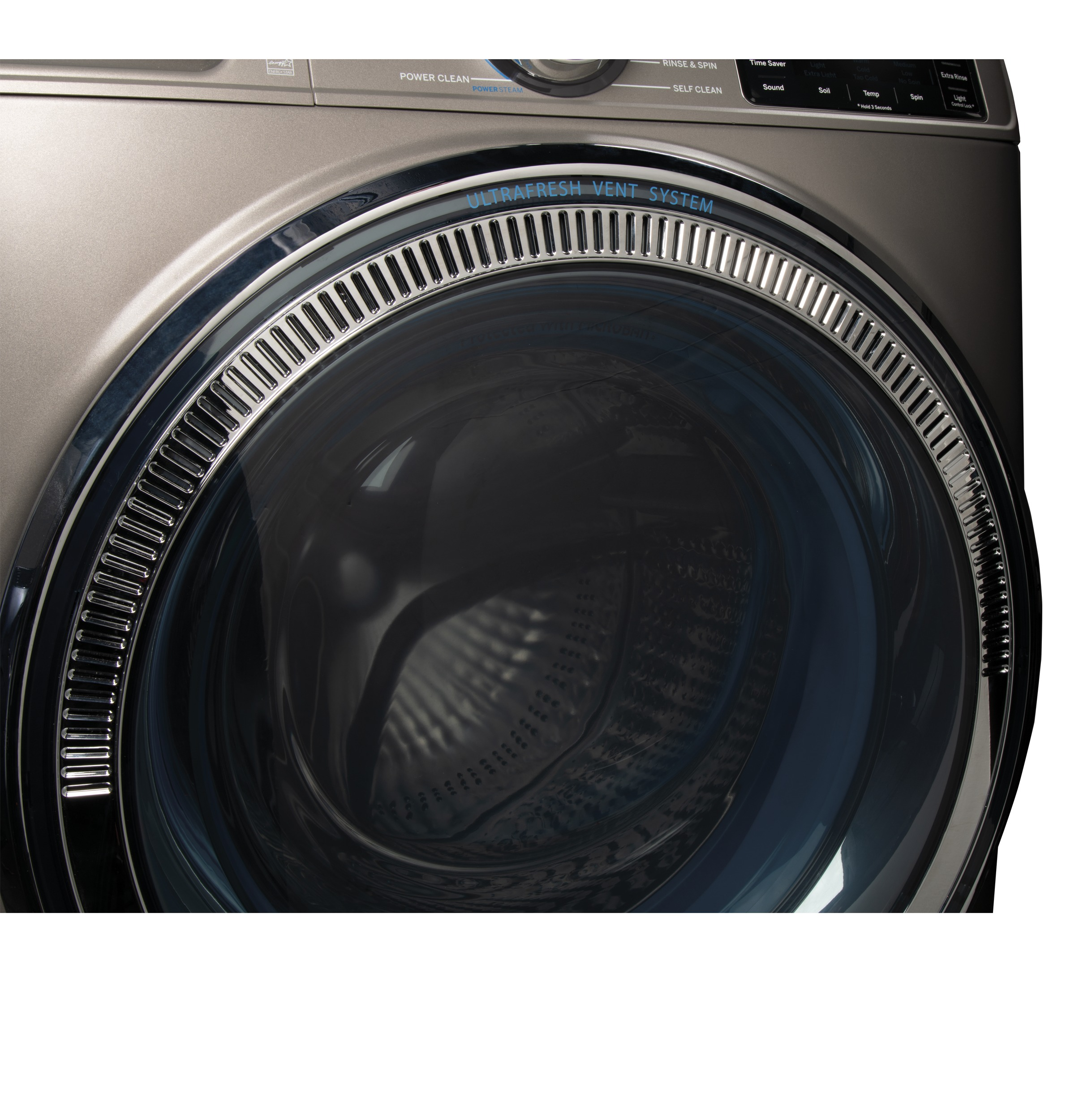 Model: GFW650SPNSN | GE GE® 4.8 cu. ft. Capacity Smart Front Load ENERGY STAR® Steam Washer with SmartDispense™ UltraFresh Vent System with OdorBlock™ and Sanitize + Allergen