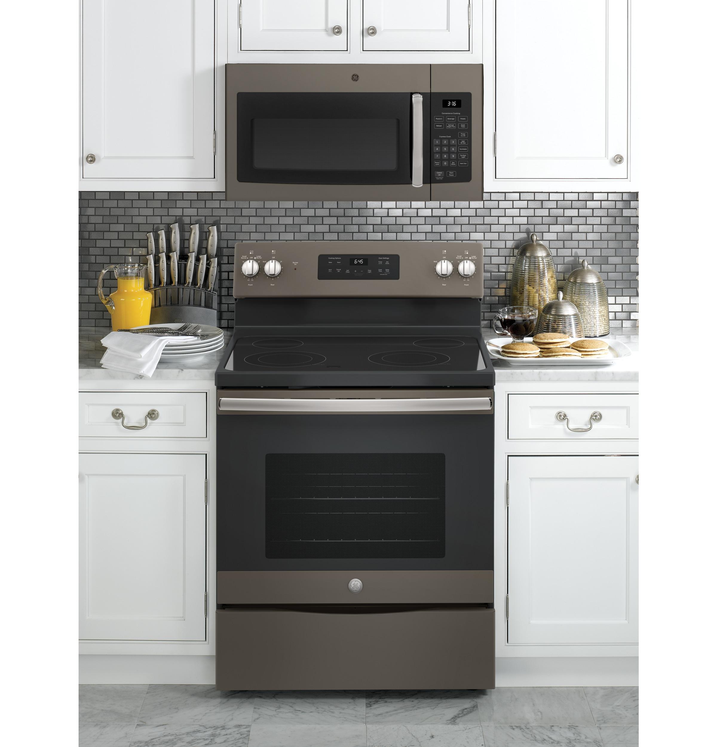 Model: JVM3160EFES   GE GE® 1.6 Cu. Ft. Over-the-Range Microwave Oven