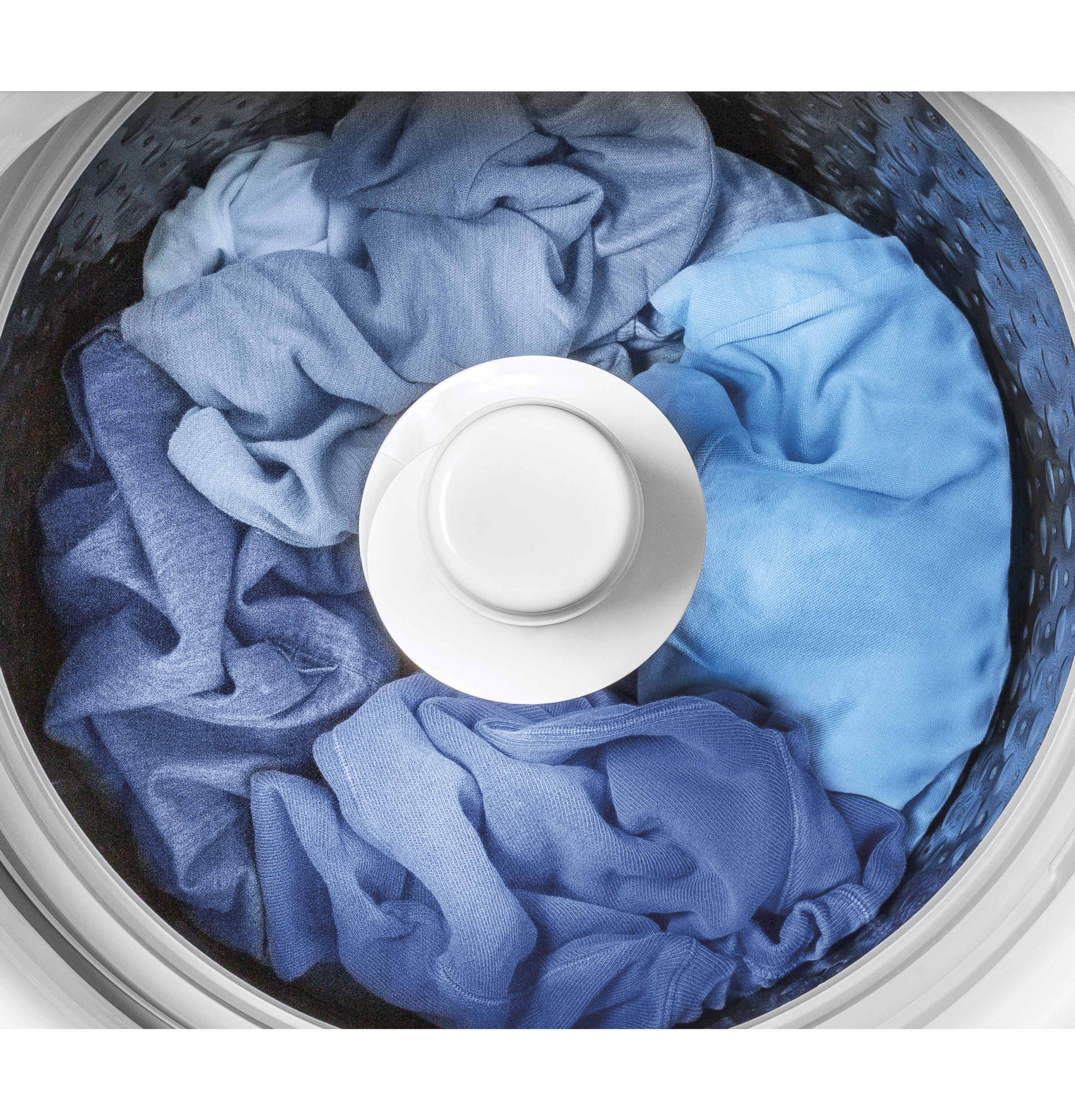 Model: GTW845CSNWS   GE GE® 5.0  cu. ft. Capacity Smart Washer with Sanitize w/Oxi and SmartDispense