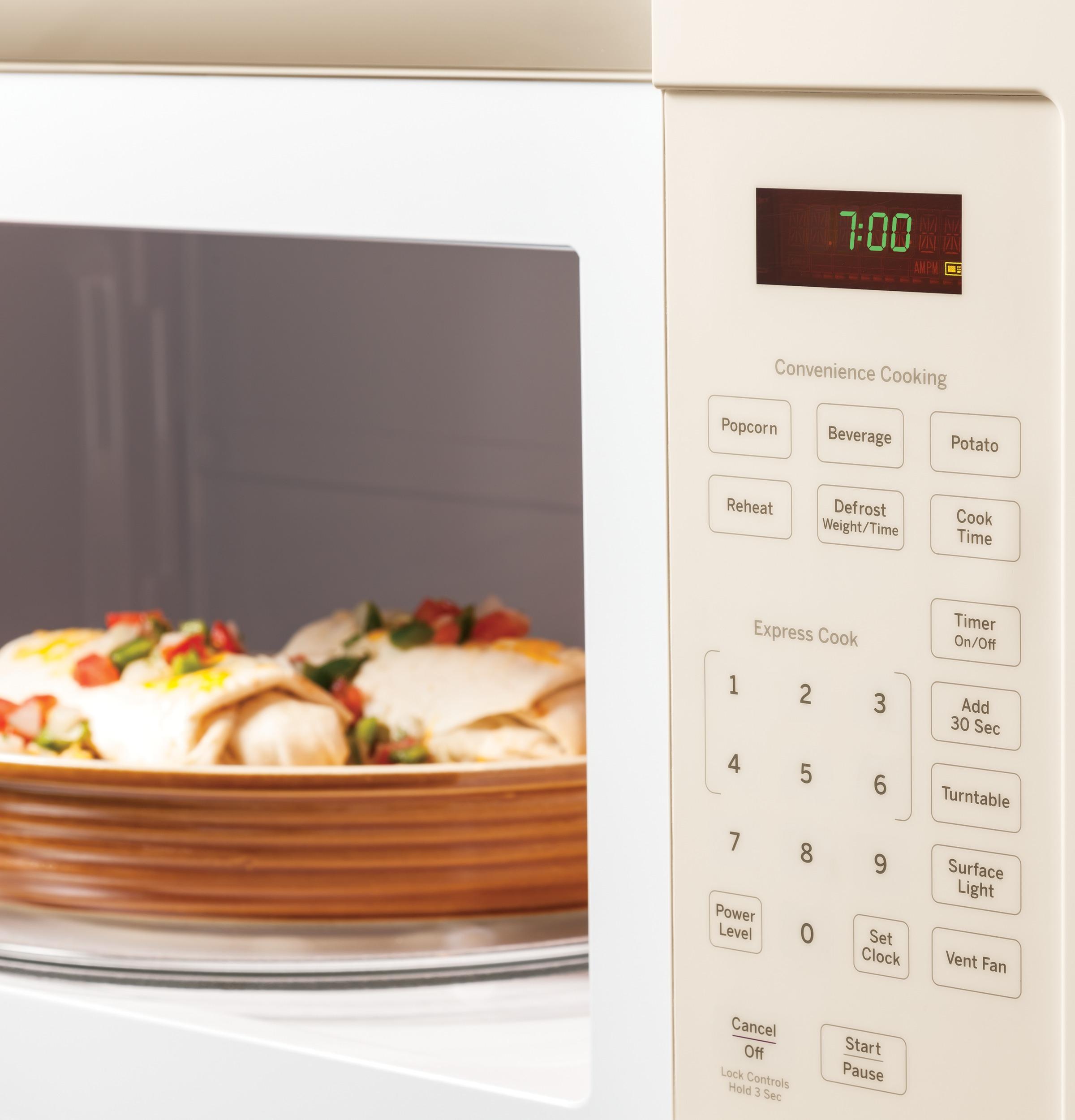 Model: JVM3160DFCC | GE GE® 1.6 Cu. Ft. Over-the-Range Microwave Oven