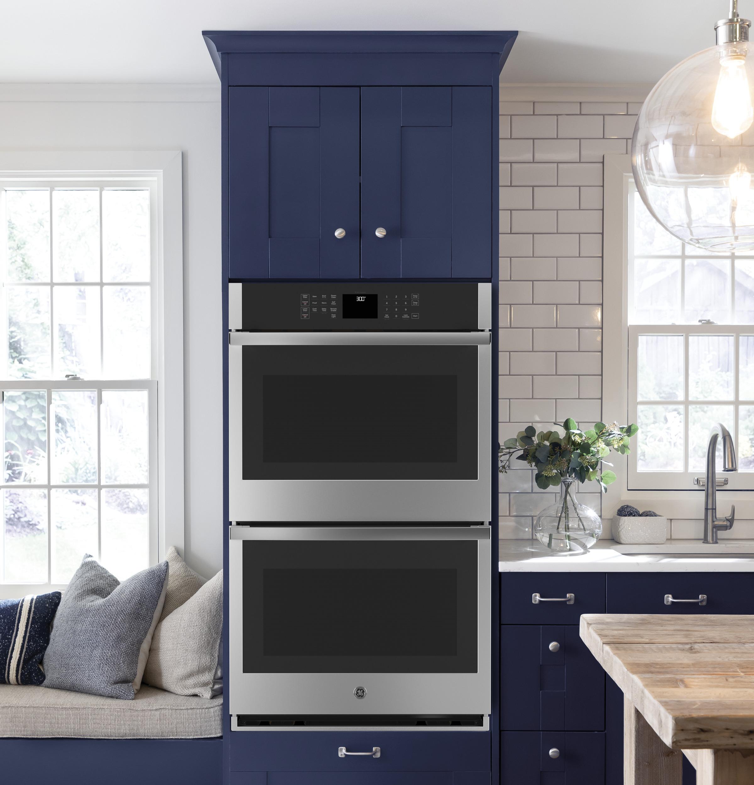 "Model: JKD3000SNSS | GE GE® 27"" Smart Built-In Double Wall Oven"