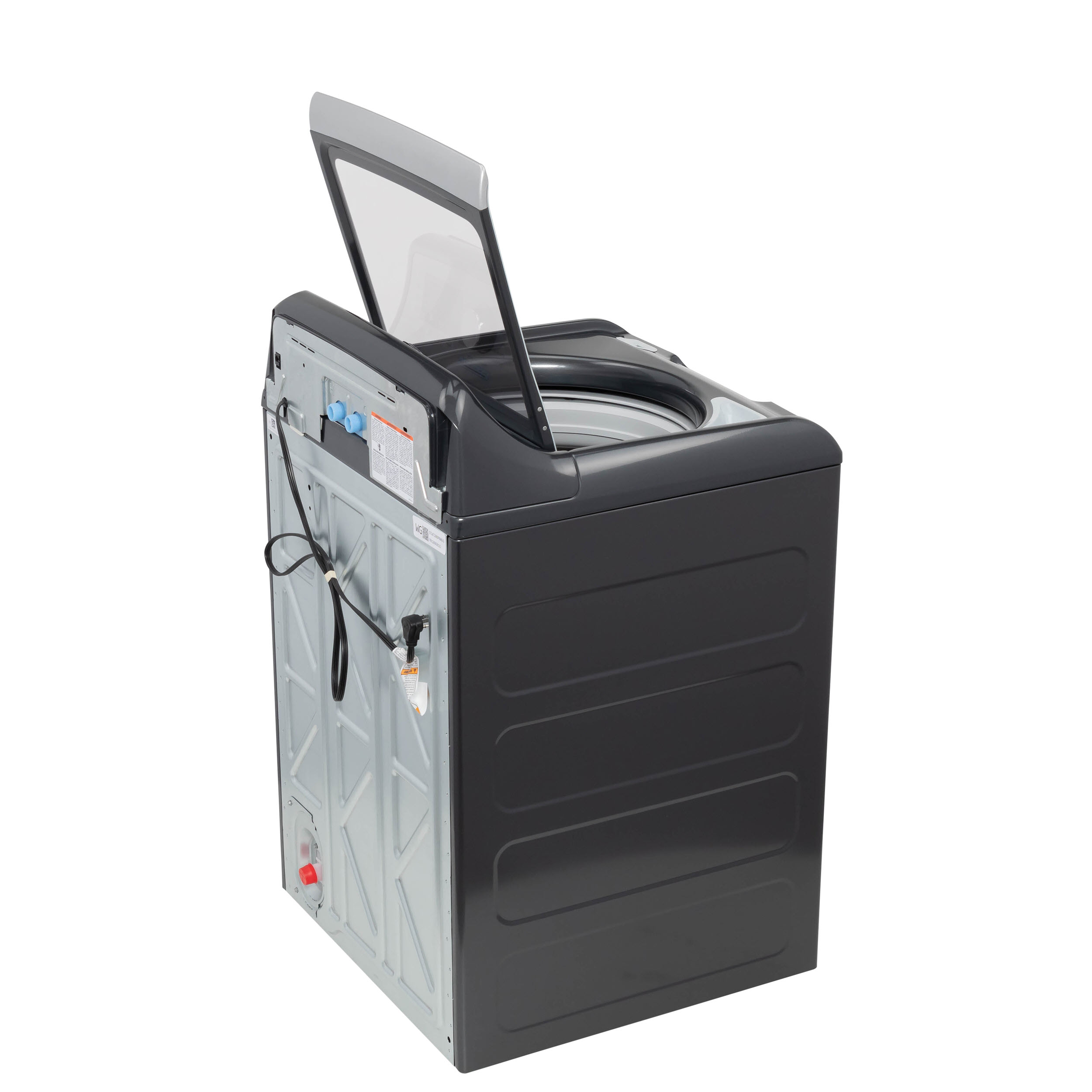 Model: GTW720BPNDG | GE GE® 4.8  cu. ft. Capacity Washer with Sanitize w/Oxi and FlexDispense®