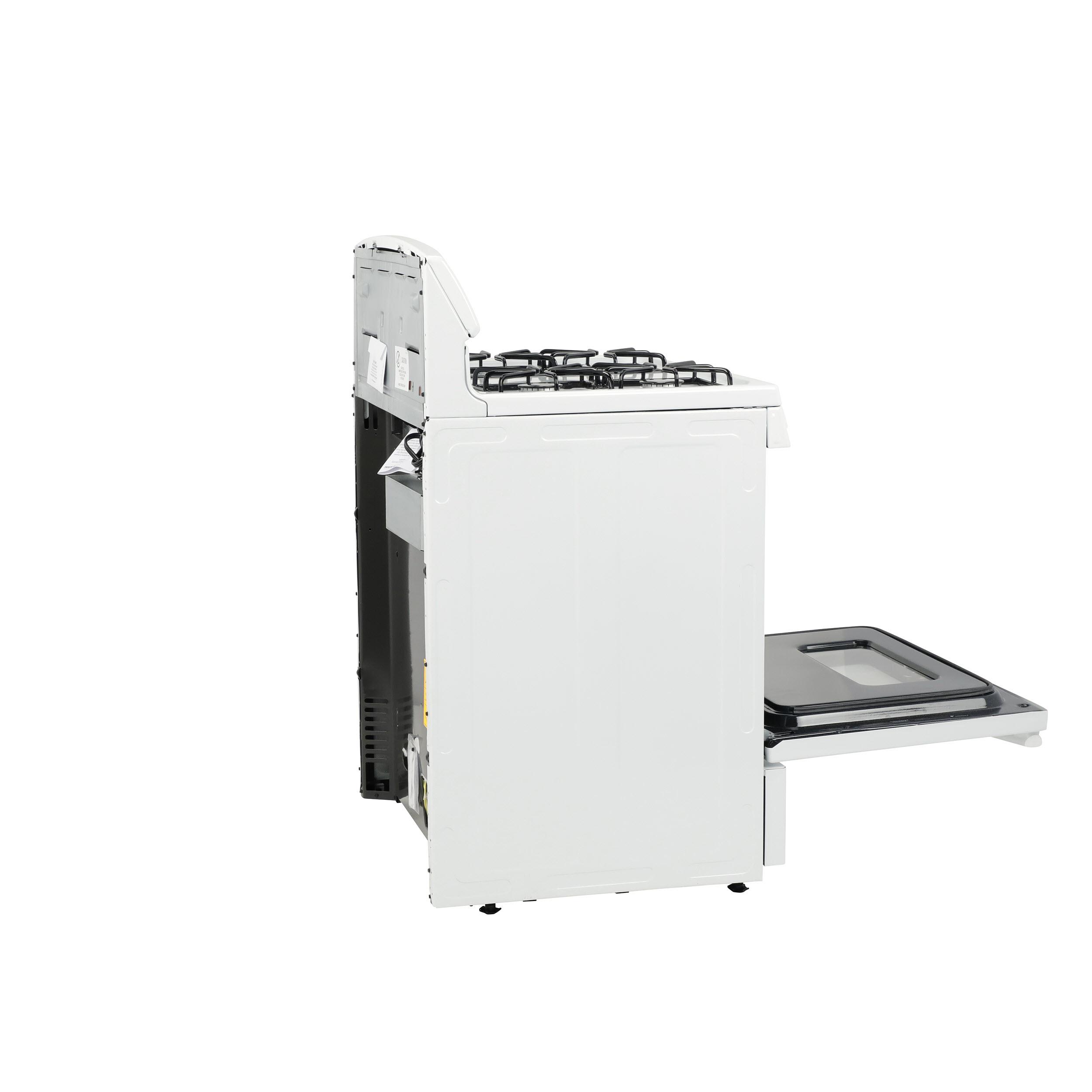 "Model: JGBS10DEMWW   GE GE® 30"" Free-Standing Front Control Gas Range"