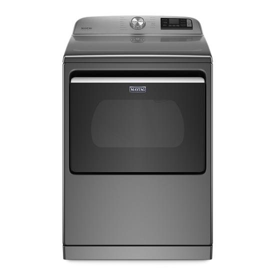 Model: MED7230HC   Maytag Smart Capable Top Load Electric Dryer with Extra Power Button - 7.4 cu. ft.