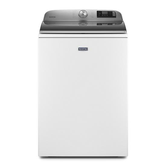 Model: MVW7232HW | Maytag Smart Top Load Washer with Extra Power Button - 5.3 cu. ft.