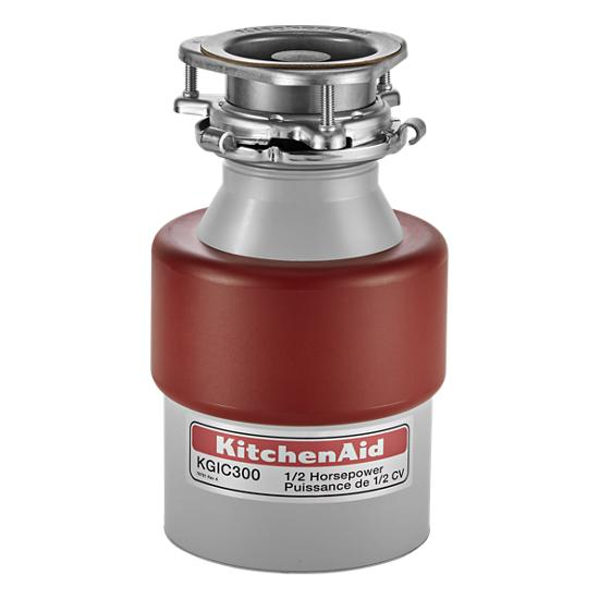 Model: KGIC300H   KitchenAid 1/2-Horsepower Continuous Feed Food Waste Disposer
