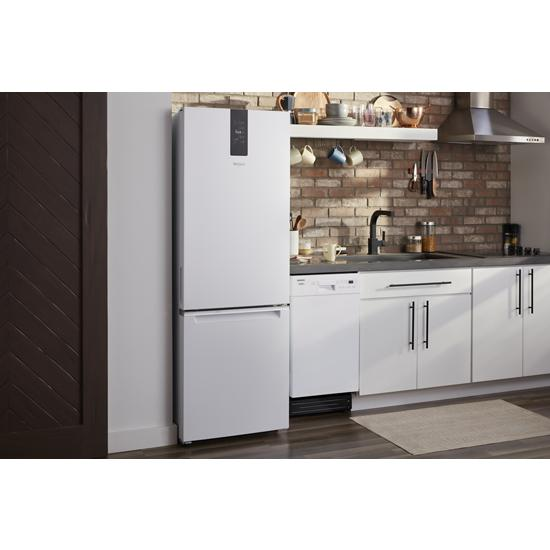 Model: WDF518SAHW | Whirlpool Small-Space Compact Dishwasher with Stainless Steel Tub