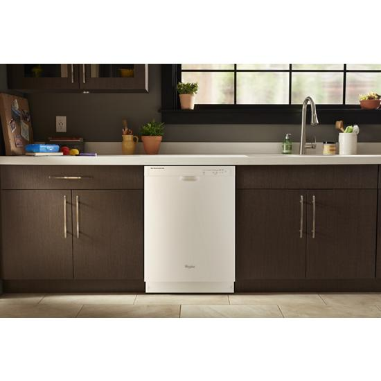 Model: WDF540PADW | Whirlpool ENERGY STAR® certified dishwasher with Sensor cycle
