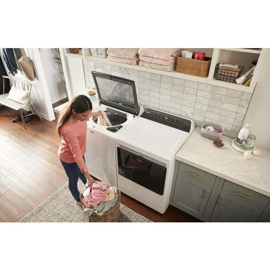 Model: WED6120HW | Whirlpool 7.4 cu. ft. Smart Top Load Electric Dryer