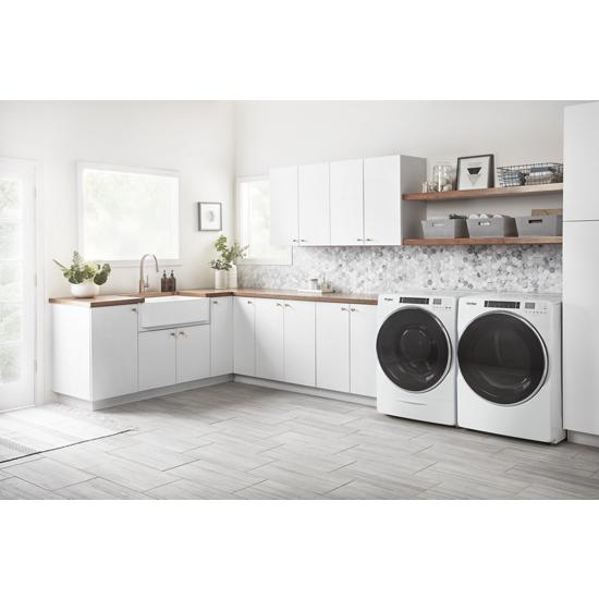 Model: WED8620HW | Whirlpool 7.4 cu. ft. Front Load Electric Dryer with Steam Cycles
