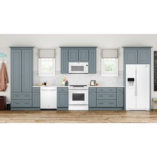 Model: WEE510S0FW   Whirlpool 4.8 cu. ft. Guided Electric Front Control Range With The Easy-Wipe Ceramic Glass Cooktop