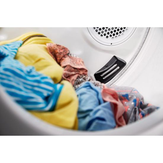 Model: WET4124HW   Whirlpool 1.6 cu.ft, 120V/20A Electric Stacked Laundry Center with 6 Wash cycles and Wrinkle Shield™