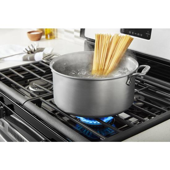 Model: WFG515S0JS   Whirlpool 5.0 cu. ft. Whirlpool® gas range with SpeedHeat™ burner