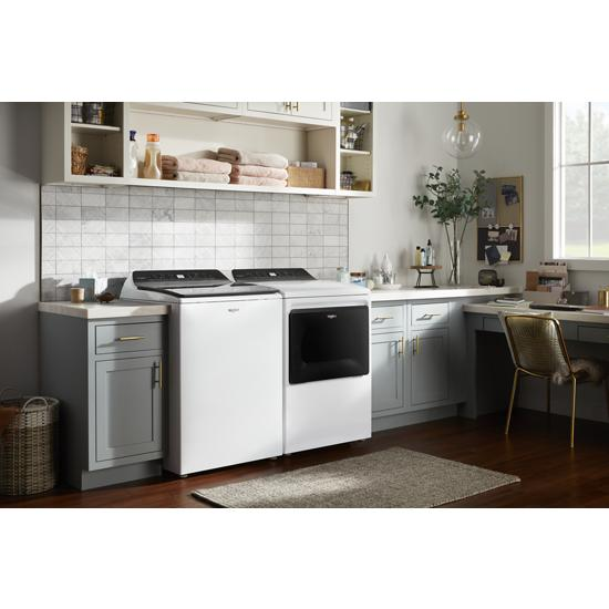 Model: WGD5100HW | Whirlpool 7.4 cu. ft. Top Load Gas Dryer with Intuitive Controls