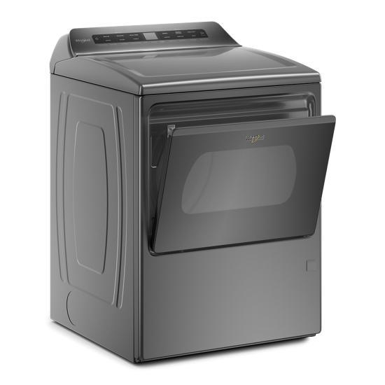 Model: WGD6120HC | Whirlpool 7.4 cu. ft. Smart Top Load Gas Dryer