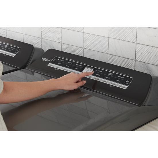 Model: WGD7120HC | Whirlpool 7.4 cu. ft. Smart Top Load Gas Dryer