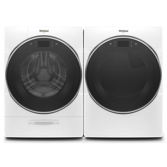 Model: WGD9620HW | Whirlpool 7.4 cu. ft. Smart Front Load Gas Dryer