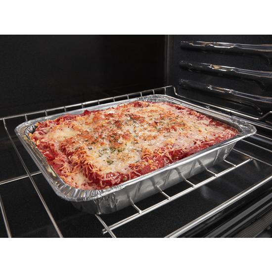 Model: WOC54EC7HS | Whirlpool 5.7 Cu. Ft. Smart Combination Wall Oven with Touchscreen