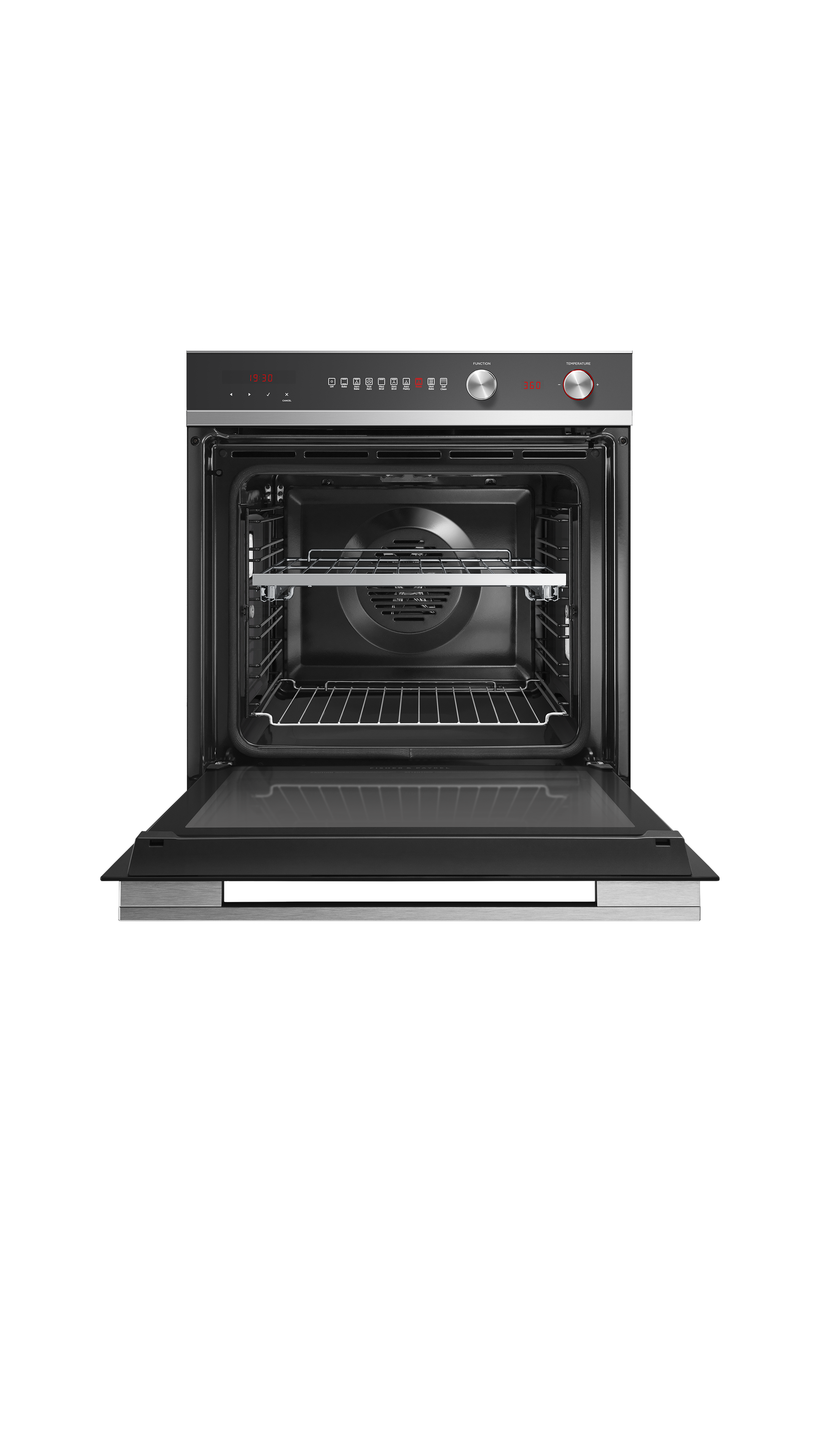 """Fisher and Paykel Oven, 24"""", 9 Function, Self-cleaning"""