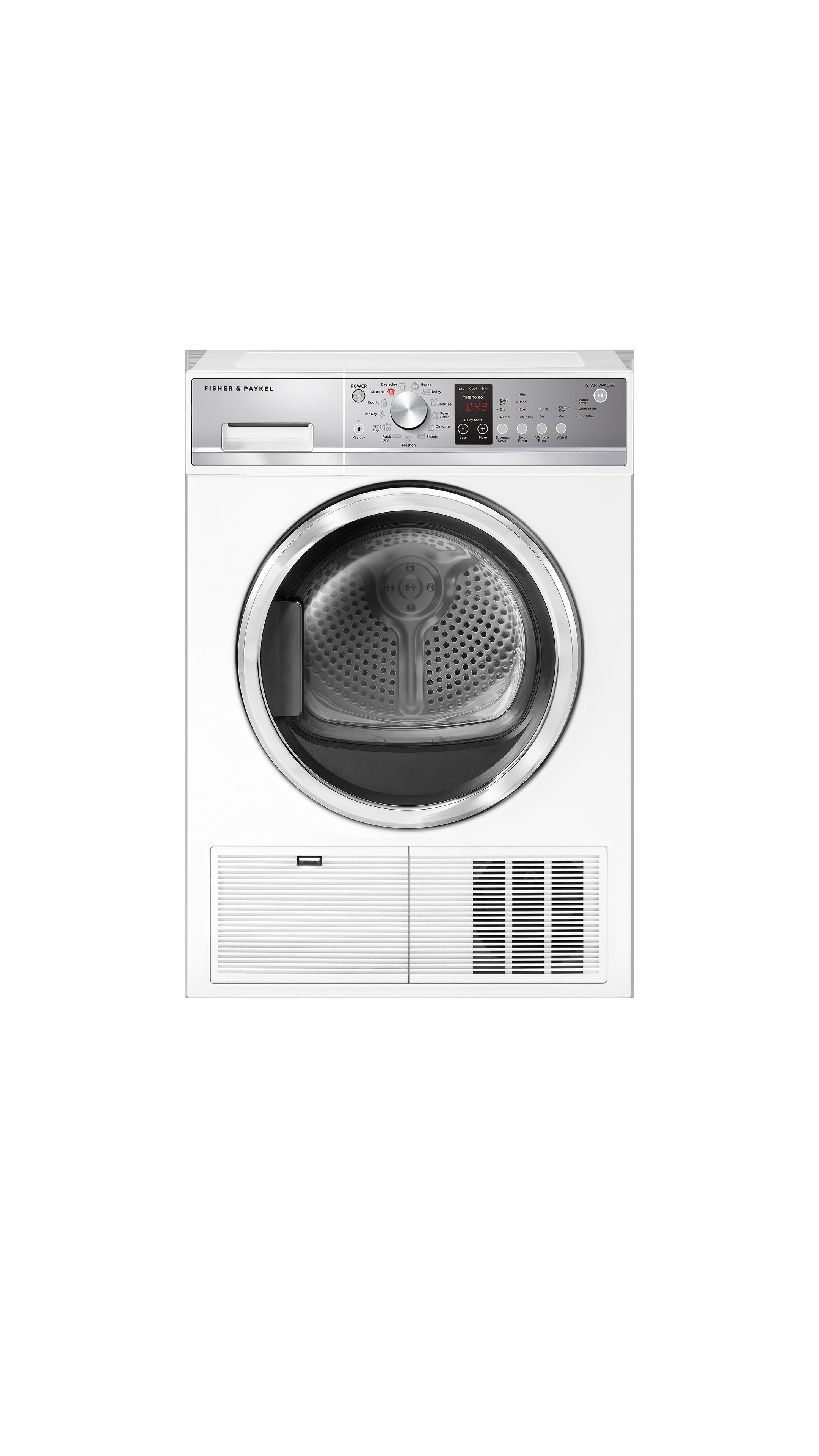 Model: DE4024P1 | Fisher and Paykel Condensing Dryer, 4.0 cu ft