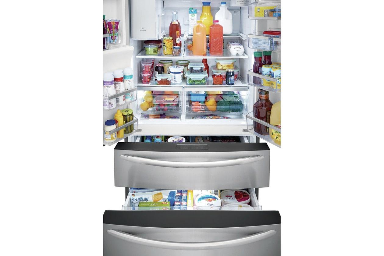 Model: FG4H2272UF   Frigidaire Gallery 21.4 Cu. Ft. Counter-Depth 4-Door French Door Refrigerator