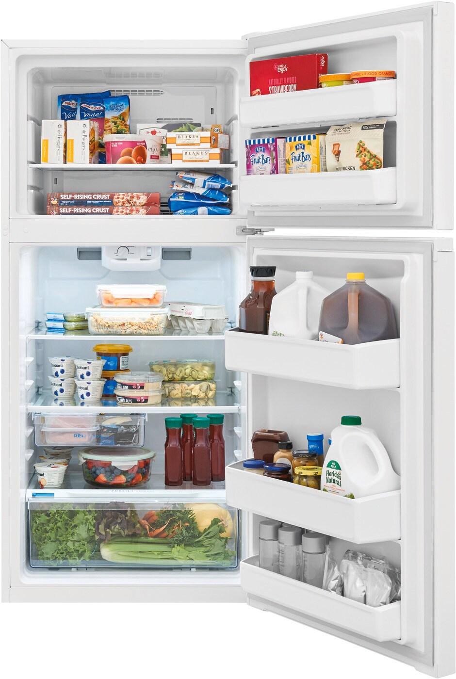 Model: FFHT1425VW | Frigidaire 13.9 Cu. Ft. Top Freezer Refrigerator