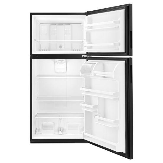 Model: ART318FFDB | Amana 30-inch Amana® Top-Freezer Refrigerator with Glass Shelves