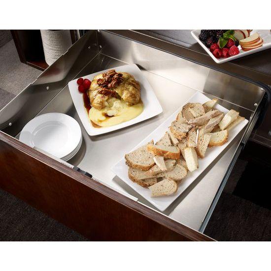 Model: KEWS175BPA | KitchenAid 27'' Slow Cook Warming Drawer, Panel-Ready