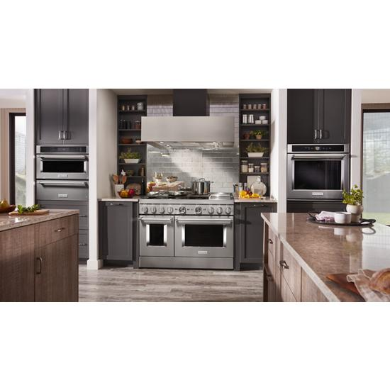 """Model: KMBP100ESS   KitchenAid 30"""" Built In Microwave Oven with Convection Cooking"""
