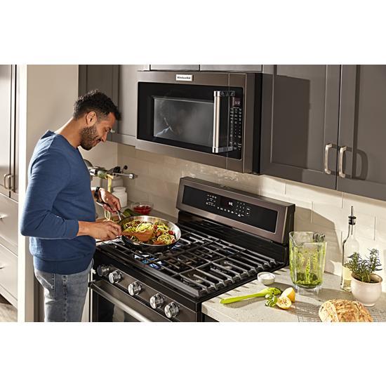 "Model: KMHS120EBS | KitchenAid 30"" 1000-Watt Microwave Hood Combination"