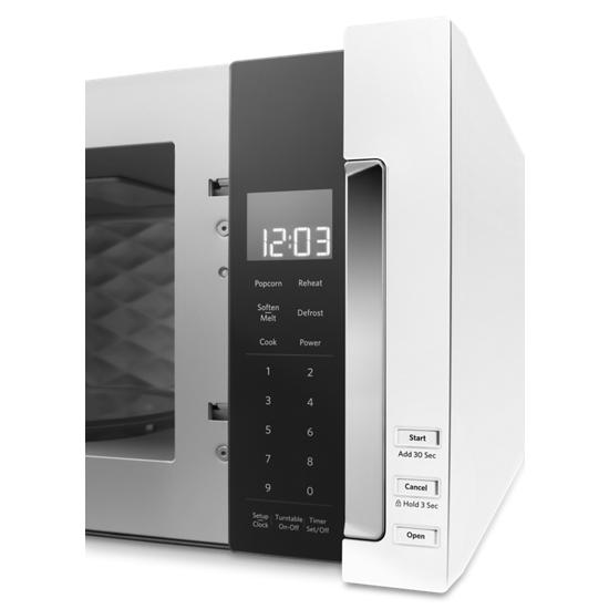 Model: KMLS311HWH   KitchenAid 1000-Watt Low Profile Microwave Hood Combination
