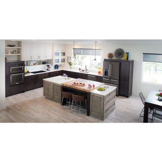 """Model: KOCE500EBS   KitchenAid 30"""" Combination Wall Oven with Even-Heat™  True Convection (Lower Oven)"""