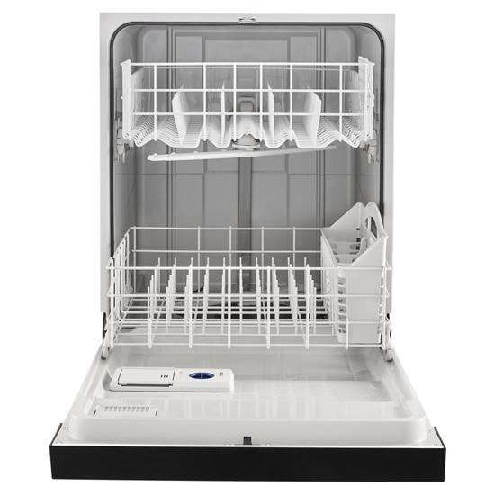 Model: WDF330PAHB | Whirlpool Heavy-Duty Dishwasher with 1-Hour Wash Cycle
