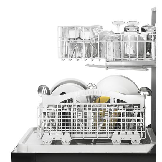 Model: WDF331PAHB | Whirlpool Heavy-Duty Dishwasher with 1-Hour Wash Cycle