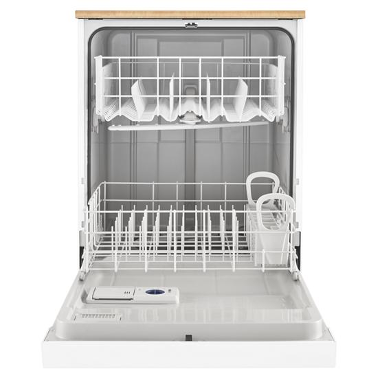 Model: WDP370PAHW | Whirlpool Heavy-Duty Dishwasher with 1-Hour Wash Cycle