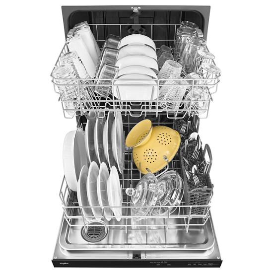 Model: WDT730PAHB | Whirlpool Dishwasher with Fan Dry