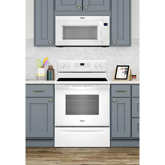 Model: WFE505W0HW | Whirlpool 5.3 cu. ft. Freestanding Electric Range with 5 Elements