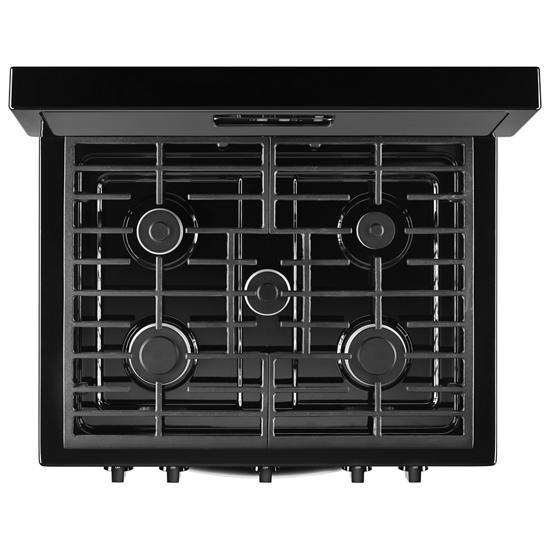 Model: WFG505M0BB   Whirlpool Whirlpool® 5.1 Cu. Ft. Freestanding 5-Burner Gas Stove