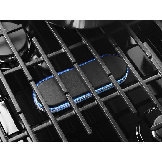 Model: WFG975H0HV | Whirlpool 5.8 cu. ft. Smart Freestanding Gas Range with EZ-2-Lift™ Grates