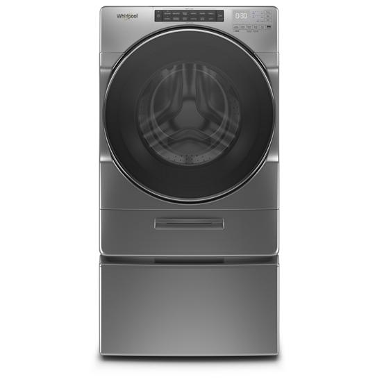 Model: WFW6620HC   Whirlpool 4.5 cu. ft. Closet-Depth Front Load Washer with Load & Go™ XL Dispenser