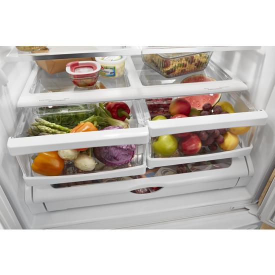Model: WRF535SWHB | Whirlpool 36-inch Wide French Door Refrigerator with Water Dispenser - 25 cu. ft.